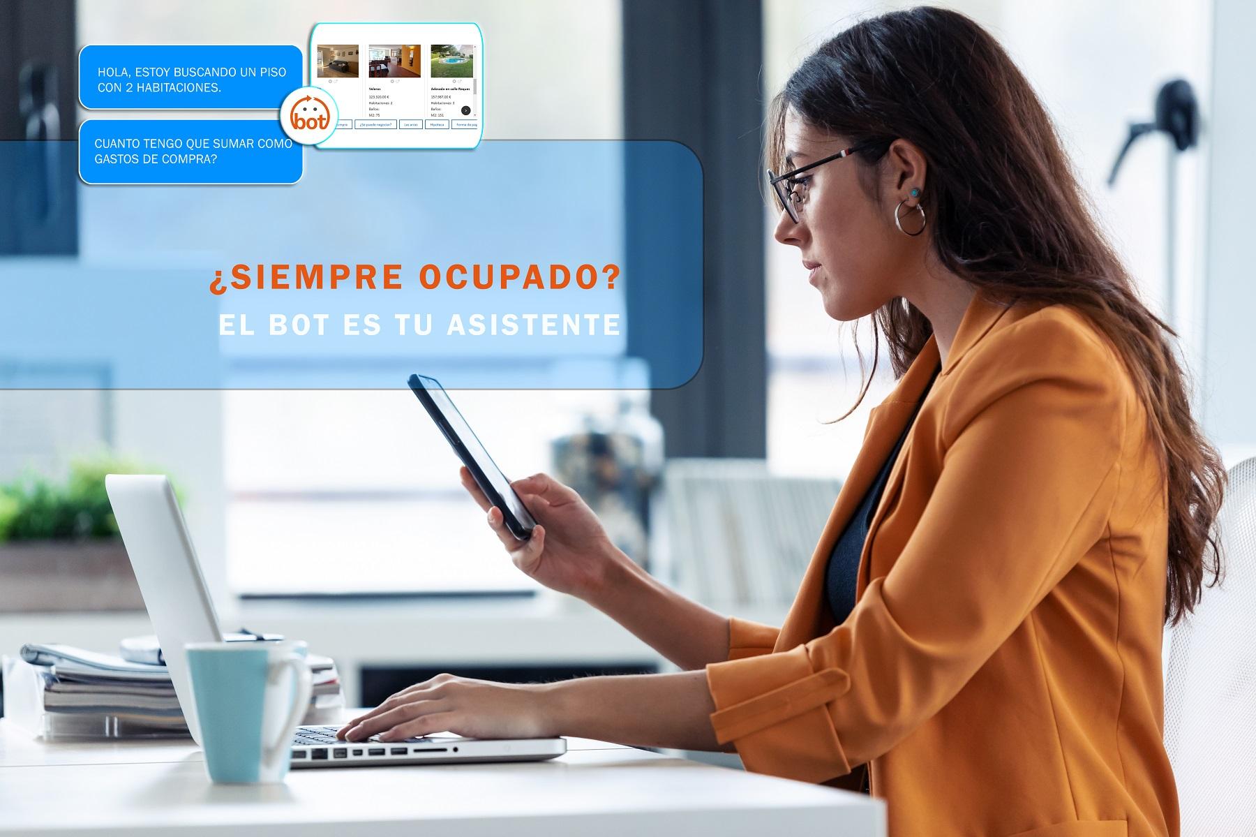 chatbot inmobiliario siempre estas ocupado?